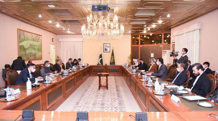 FM Qureshi hosted a delegation of Hezb-e-Wahdat-e-Islami of Afghanistan at the MOFA