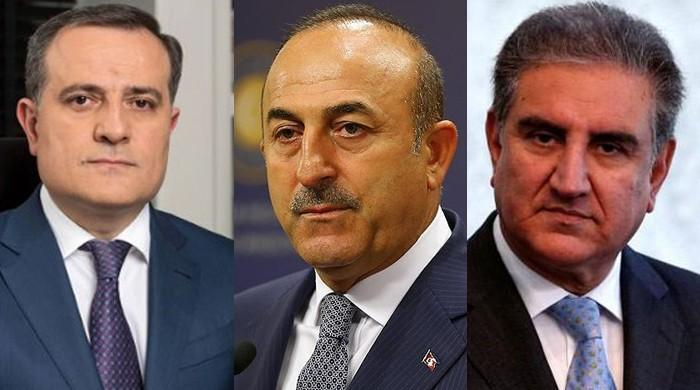 The Foreign Ministers of Pakistan, Turkey and Azerbaijan will hold a tripartite meeting in Islamabad