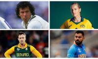 ICC asks cricket fans to tell who is better among Imran Khan, De Villiers, Virat Kohli, Meg Lanning