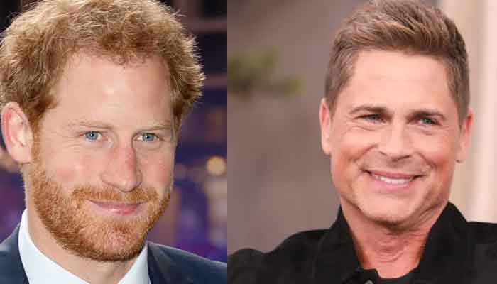 Rob Lowe Says Prince Harry Has a Ponytail Now