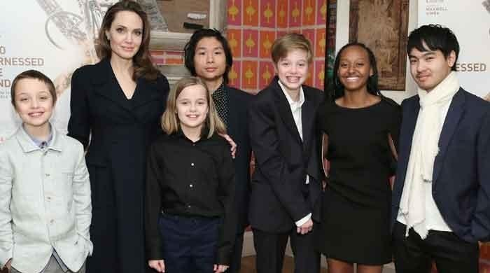 Angelina Jolie and Brad Pitt's kids learning different languages