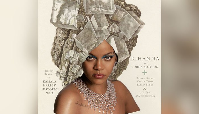 Rihanna, Lorna Simpson collaborate for photoshoot and the results are fascinating