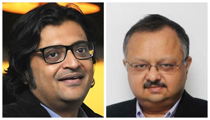 Mumbai police obtain Arnab Goswami's WhatsApp chat with ratings agency CEO thumbnail