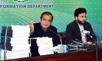 Shibli Faraz asks Opposition to quit 'hiding behind rallies', submit records to ECP