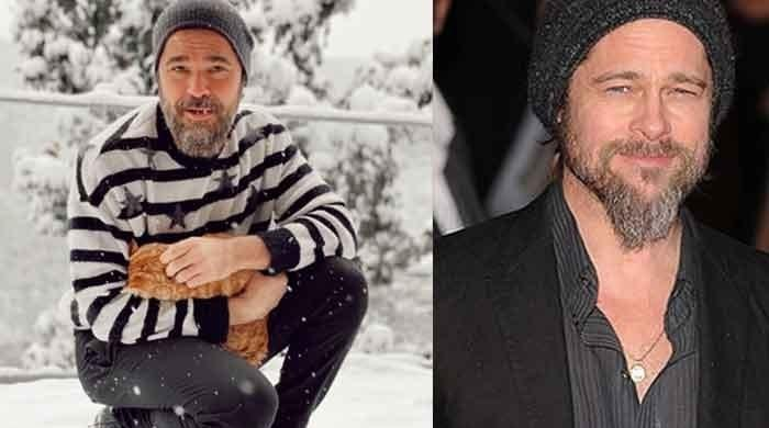 Ertugrul lead actor Engin Altan looks super cool like Brad Pitt in his latest photo - The News International