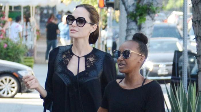 Angelina Jolie stuns in a sheer black shirt during mother-daughter shopping trip - The News International