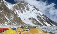 Nepalese climbers who reached K2 summit arrive safely back to camp
