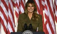 In farewell message, Melania Trump tells Americans 'violence is never the answer'