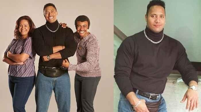 Dwayne Johnson's upcoming family sitcom Young Rock's official cast photos unveiled