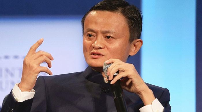 First video of Jack Ma addressing teachers after months of disappearance