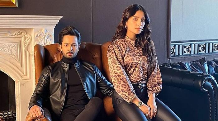 Ayeza Khan, Danish Taimoor tease new project together
