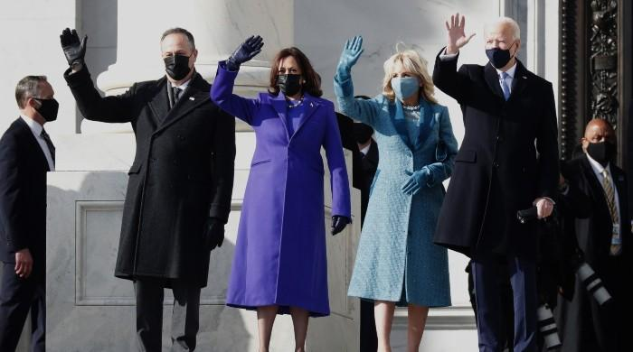 Celebrities hope for peace and unity after Biden, Harris are sworn in