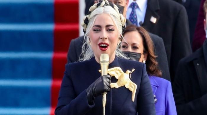 Lady Gaga unveils symbolism behind stunning dove pin she wore at Biden's swearing in