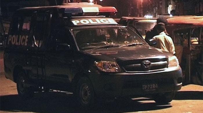 In Faisalabad, police officers allegedly shot one and injured three