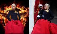 Lady Gaga serves 'Hunger Games' symbolism at Biden-Harris inauguration