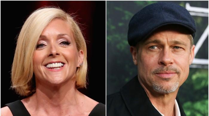 Jane Krakowski is in a 'full-fledged fantasy-filled' relationship with Brad Pitt