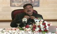 Sheikh Rasheed warns Opposition of Broadsheet scandal's consequences