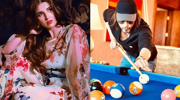 Hareem Farooq copies Shah Rukh Khan's caption for her latest Instagram post?