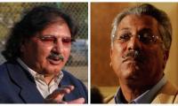 Former Pakistani cricketers get vaccinated for coronavirus in UK