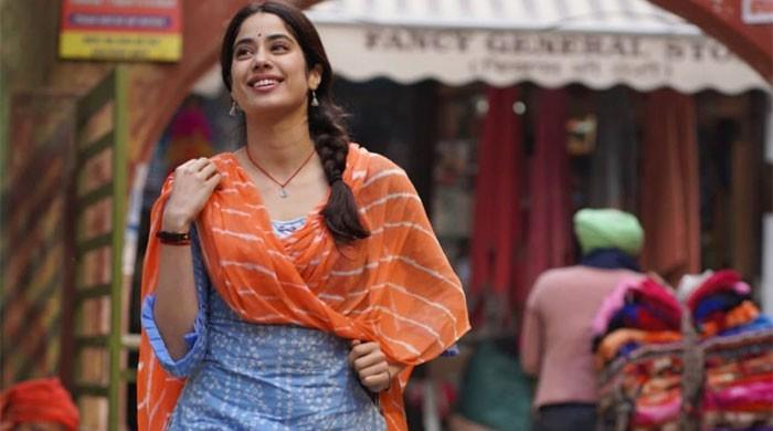 Janhvi Kapoor-starrer 'Good Lucky Jerry' shoot disrupted by protesting farmers in Patiala