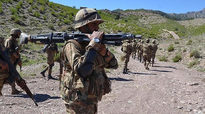 Pakistani security forces kill 5 terrorists in Waziristan operation: ISPR