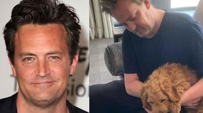 Matthew Perry welcomes new guest into his home a head of wedding