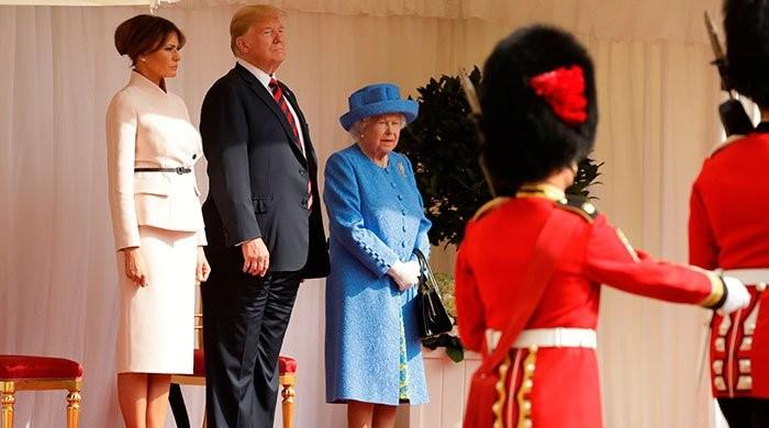 Donald Trump 'morally insulted Queen Elizabeth during his 2018 visit - The News International