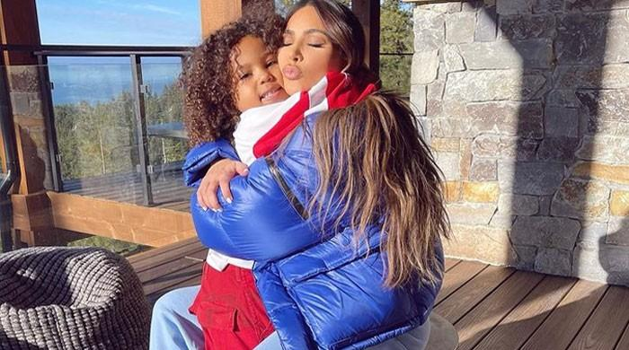 Kim Kardashian ecstatic as her son Saint speaks Japanese