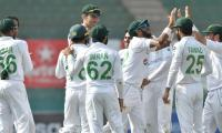 #PAKvsSA: Pakistan lose 4 wickets after bowling out South Africa for 220 in Karachi Test