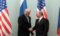 Joe Biden reaffirms US support for Ukraine's sovereignty in first phone call with Russia's Putin