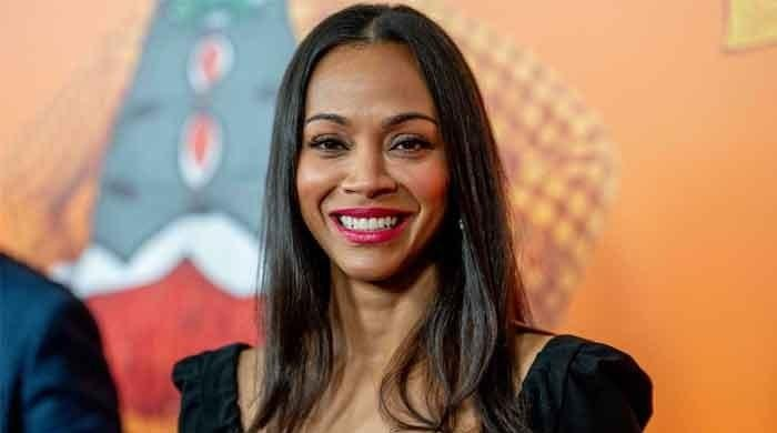 Zoe Saldana reacts to govt's decision to move teachers to the front of the vaccine line