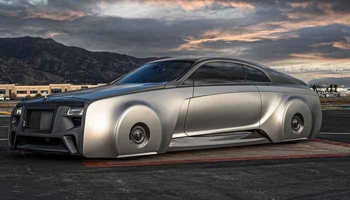 Justin Bieber's ultra-luxury British car looks like a space vehicle