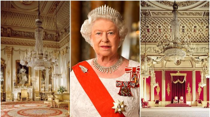 Step inside Buckingham Palace as Queen marks 69 years as the monarch