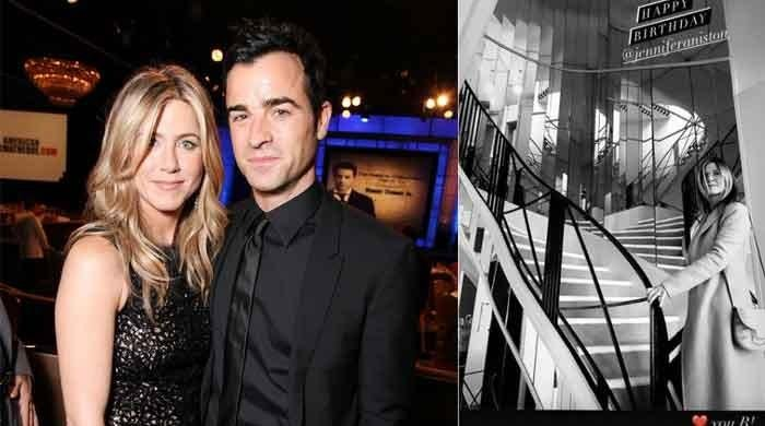 Justin Theroux celebrates his ex Jennifer Aniston's birthday in style to prove he still loves her
