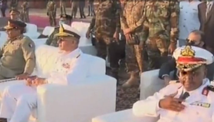 AMAN-21 showcases: Pak efforts for regional peace, stability, says CJCSC Gen Raza