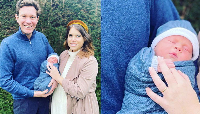 Princess Eugenie names her son August Philip Hawke Brooksbank