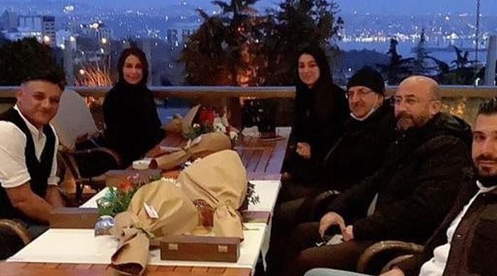Reema Khan meets 'Ertugrul' team as she visits Turkey