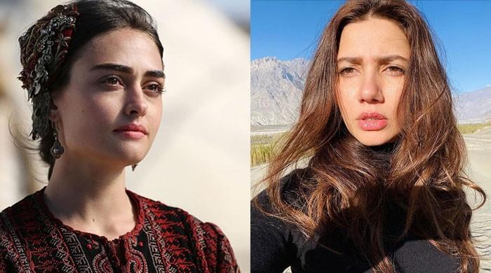 Mahira Khan showers love on 'Ertugrul' star Esra Bilgic; welcomes her to Zalmi family