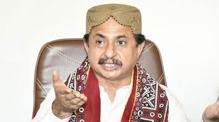 Haleem Adil Sheikh of PTI was shifted to Karachi Hospital