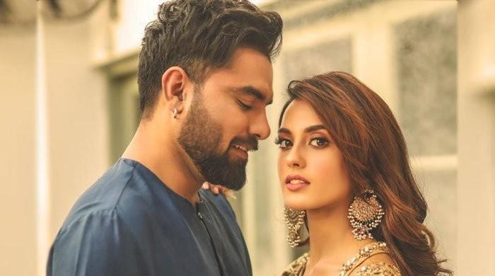 Iqra Aziz, Yasir Hussain exude couple goals in latest snap