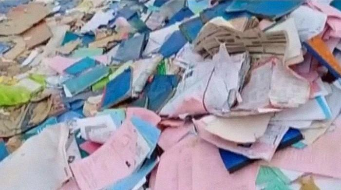 Islamabad QAU sells student admission forms, certificates as trash