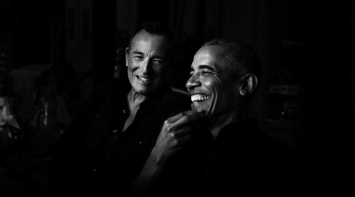 Bruce Springsteen launches new Spotify podcast with Barak Obama