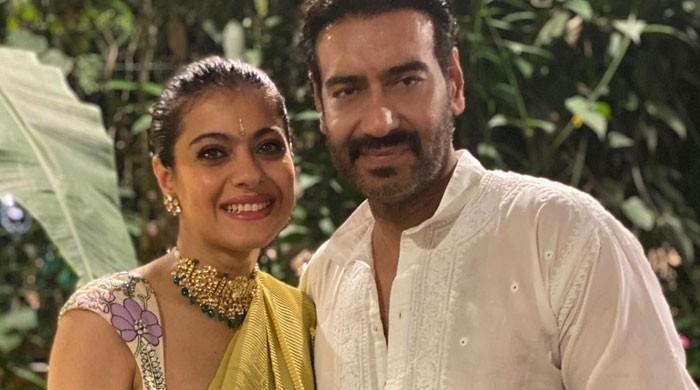Kajol shares a romantic note to wish Ajay Devgn on 22nd wedding anniversary