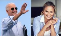 Chrissy Teigen celebrates freedom after Joe Biden unfollows her on Twitter