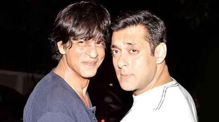 Salman Khan and Shah Rukh Khan reunite for their upcoming thriller Pathan