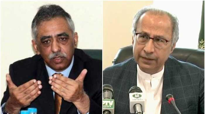 Muhammad Zubair criticized Hafeez Sheikh for contesting the Senate elections