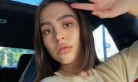 Amelia Hamlin in hot waters after she posted photos with tanned skin