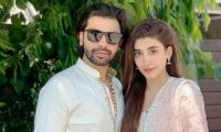 Urwa Hocane avoids tiff with Farhan Saeed at Qasim Ali Mureed, Sadia Jabbar's wedding