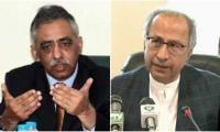 Muhammad Zubair criticises Hafeez Sheikh running for Senate elections