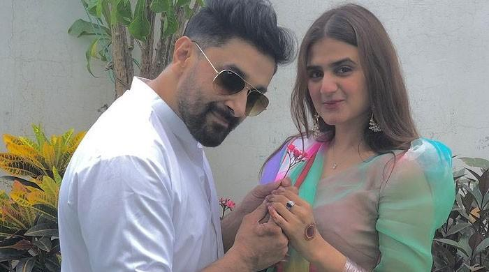 Hira Mani receives love from hubby as she celebrates 33rd birthday